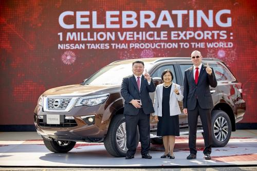 2. Nissan celebrates one million vehicle exports from Thailand