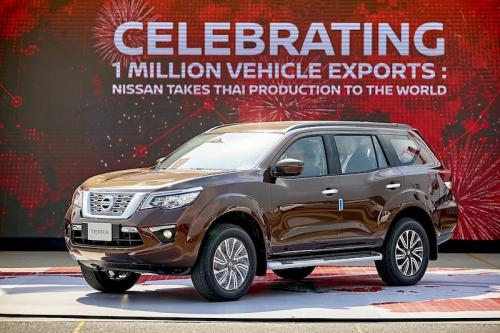 3. Nissan celebrates one million vehicle exports from Thailand