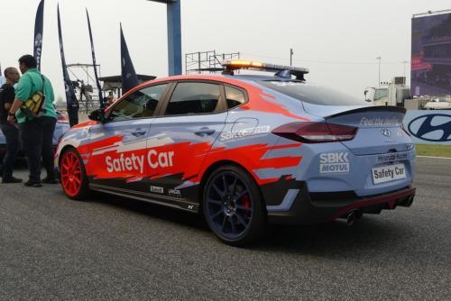 Hyundi I30n Safety car00017