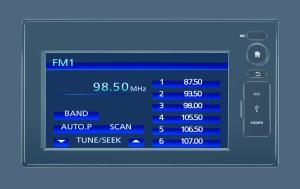 New Mobilio Radio Display